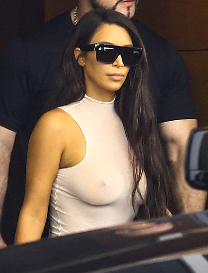 Kim Kardashian à Miami ce samedi 17 septembre