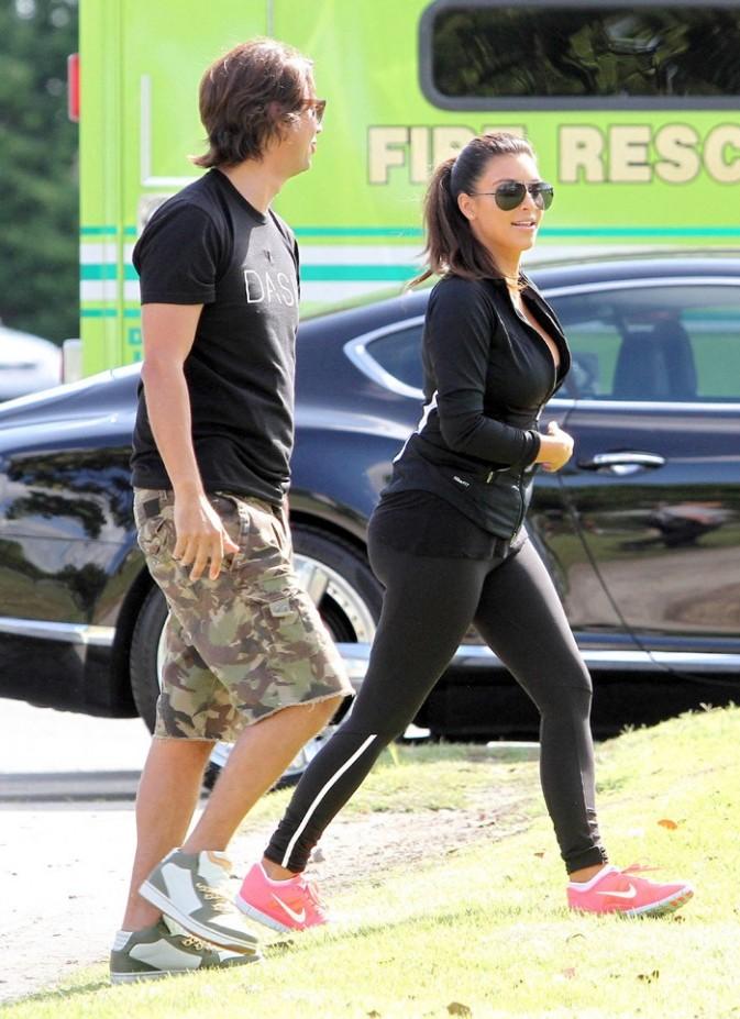 Kim Kardashian à Miami le 28 septembre 2012