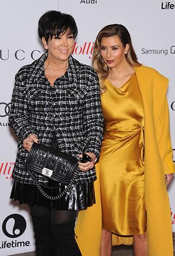 Kris Jenner et Kim Kardashian à Los Angeles le 11 décembre 2013