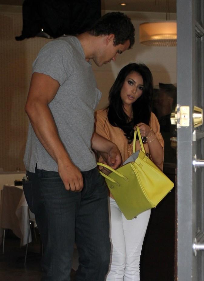 Un des nombreux sacs à main Hermès de Kim !