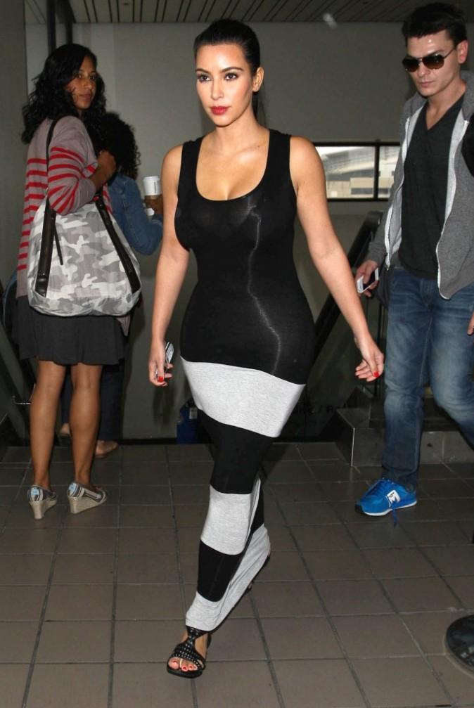 Kim Kardashian sort le grand jeu !
