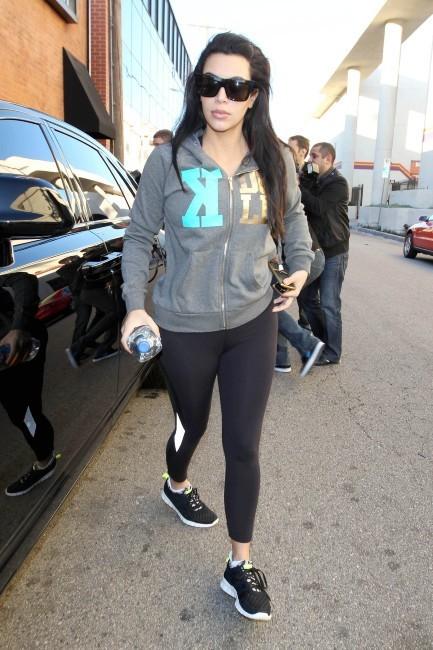 Kim Kardashian, Los Angeles, 3 janvier 2013.