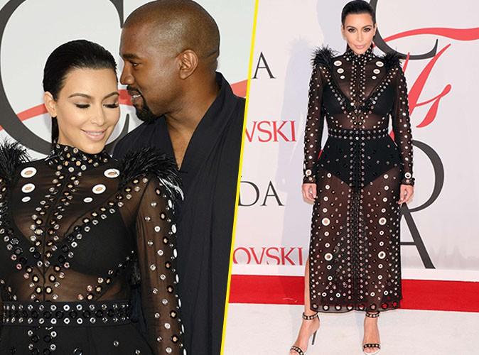 Kim Kardashian et Kanye West le 1er juin 2015