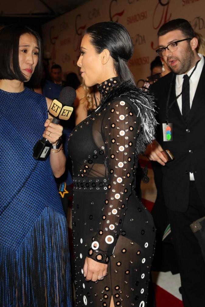 Kim Kardashian le 1er juin 2015