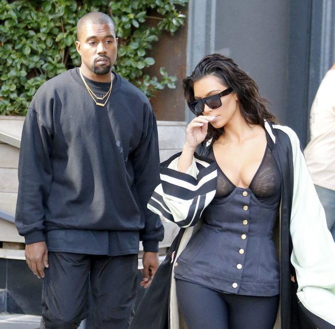 Kim et Kanye, fatigués après un séjour mené tambour battant