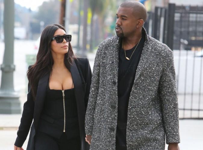 Kim Kardashian tr�s sexy pour un d�jeuner pas vraiment joyeux avec Kanye !