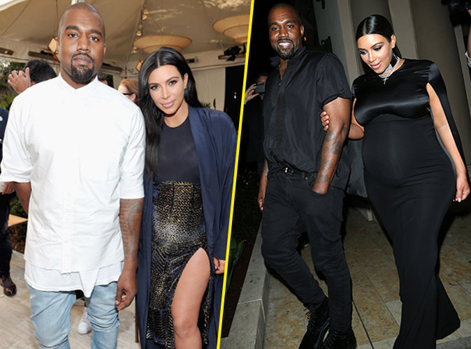 Kim Kardashian et Kanye West le 20 octobre 2015