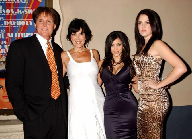 Bruce, Kris Jenner, Kim Kardashian et Khloe