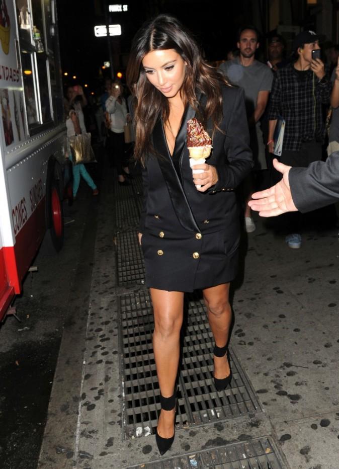 Kim Kardashian à New York, le 13 septembre 2012.