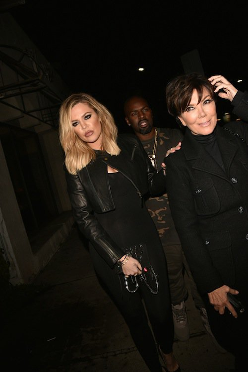 Khloé Kardashian et Kris Jenner à Los Angeles, le 2 novembre 2015