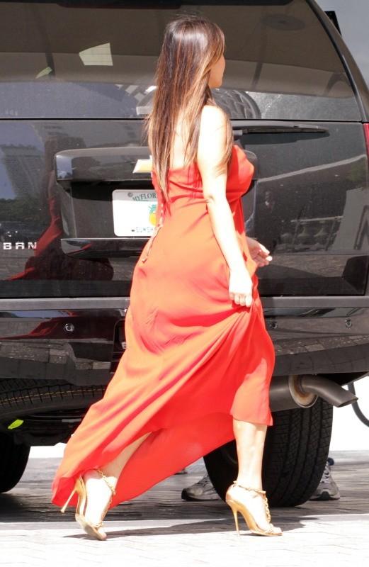 Kim Kardashian, Miami, 5 octobre 2012.