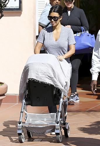Kim Kardashian à San Diego le 23 août 2014