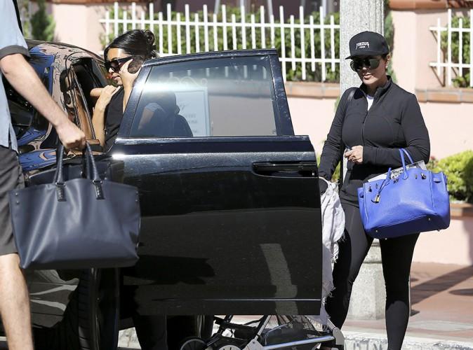 Kim Kardashian et Kris Jenner à San Diego le 23 août 2014