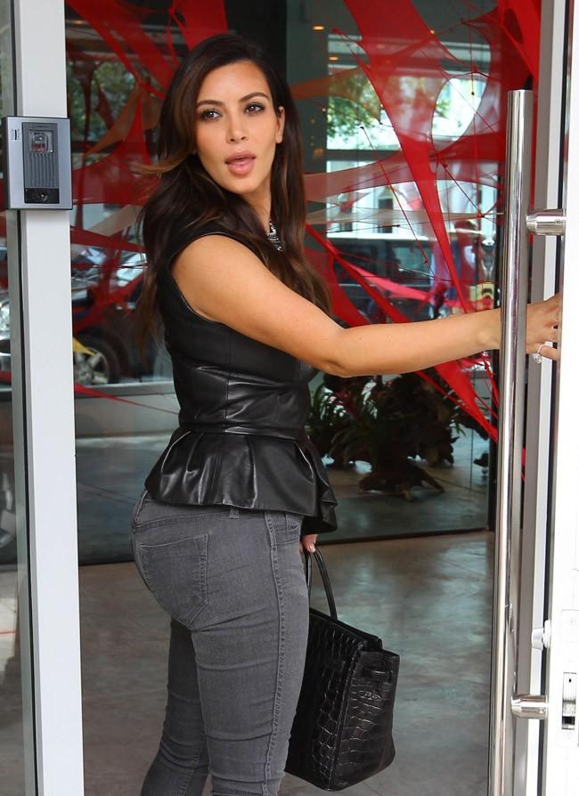 Kim Kardashian le 24 octobre 2012 à Miami