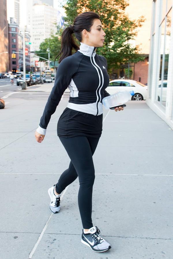 Kim Kardashian à New-York le 28 juin 2014