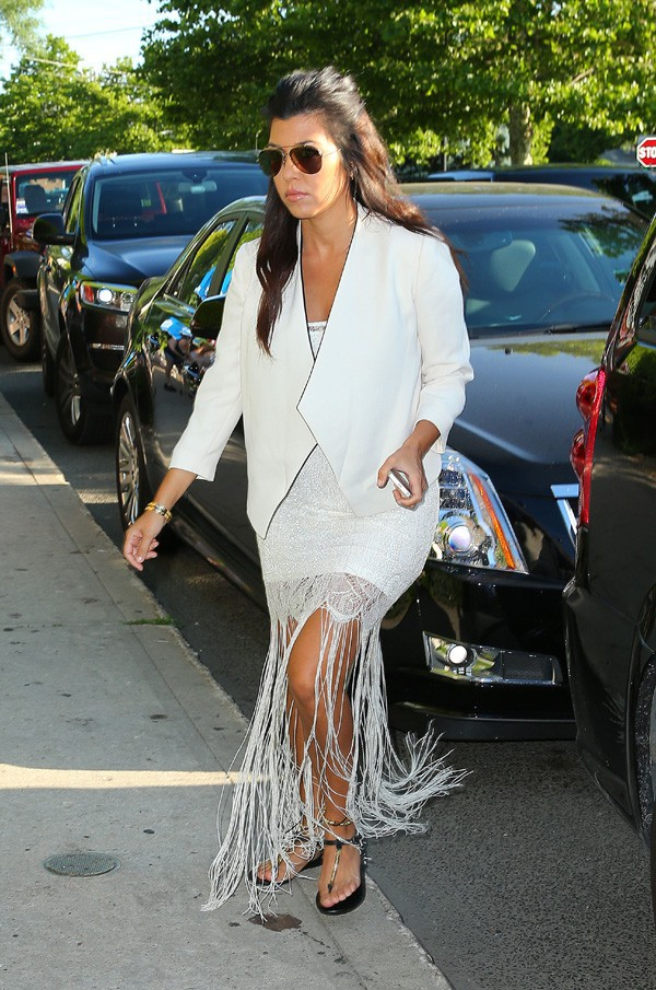 Kourtney Kardashian à Sag Harbor le 28 juin 2014