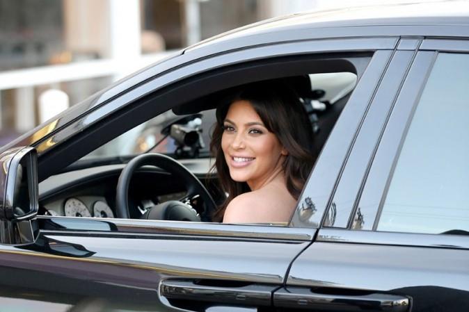 Kim Kardashian à Sherman Oaks le 3 avril 2013
