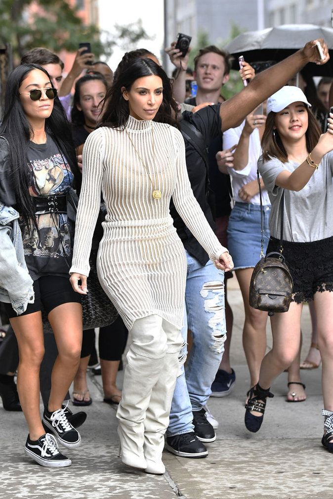 Kim Kardashian à New York le 7 septembre 2016