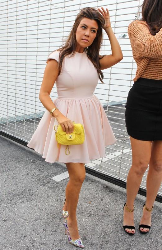 Khloe et Kourtney Kardashian, Miami, 15 décembre 2012.