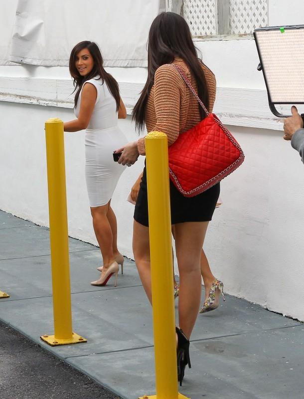 Khloe Kardashian, Miami, 15 décembre 2012.