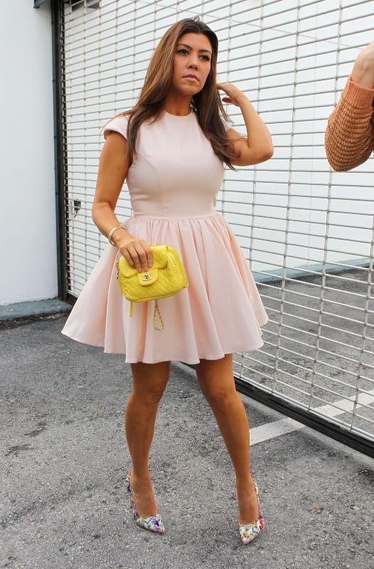 Kourtney Kardashian, Miami, 15 décembre 2012.
