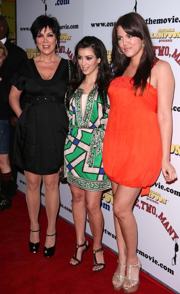 Kris Jenner, Kim et Khloe Kardashian