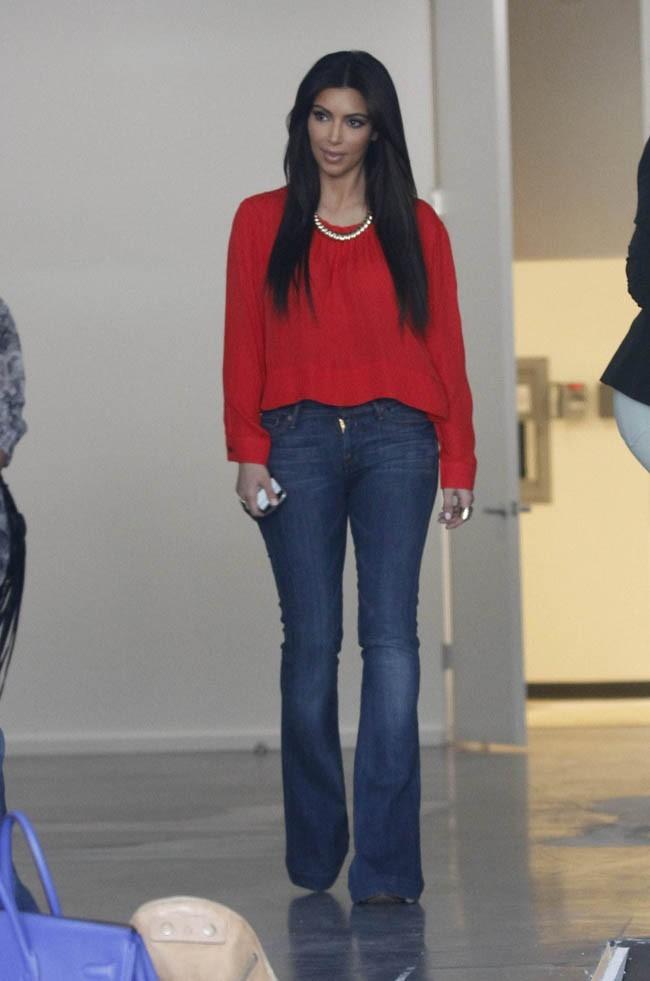 Kim Kardashian, le 24 mars à Los Angeles