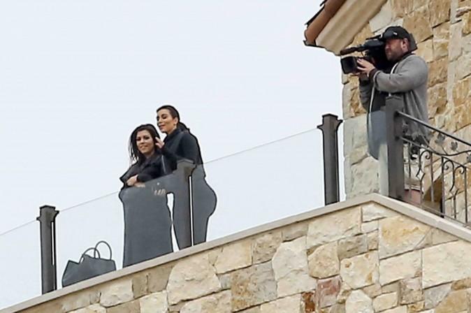 Kim, Kourtney et Khloé Kardashian : les sœurs s'éclatent sur le tournage de leur télé-réalité !