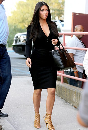 Kim Kardashian à Southampton le 30 juin 2014