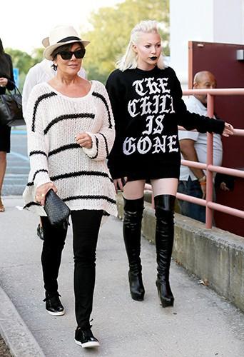 Kris Jenner et Joyce Bonelli à Southampton le 30 juin 2014
