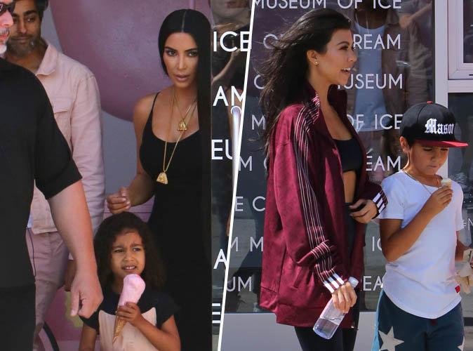 Kim & Kourtney Kardashian : Avec elles, les enfants prennent le pouvoir !