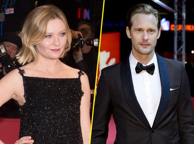 Kirsten Dunst éblouissante à la Berlinale, Alexander Skarsgard toujours aussi beau gosse