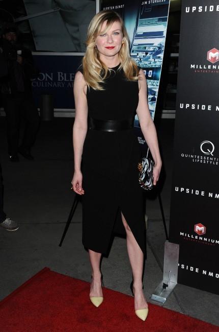 Kristen Dunst : un look parfait pour la première de Upside Down