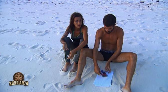 Jessica et Sébastien vers la fin de l'aventure