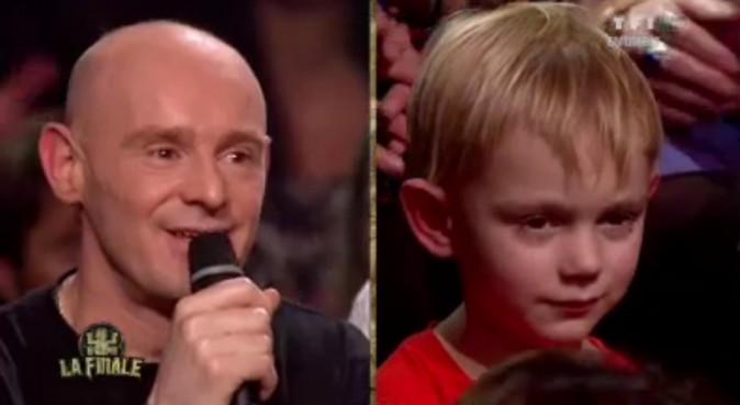Philippe parle avec émotion de son fils présent dans le public