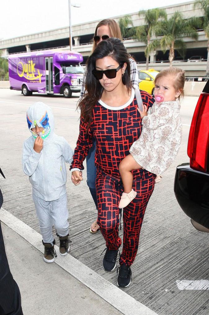 Kourtey Kardashian : Quand Scott décuve, elle gère les enfants !