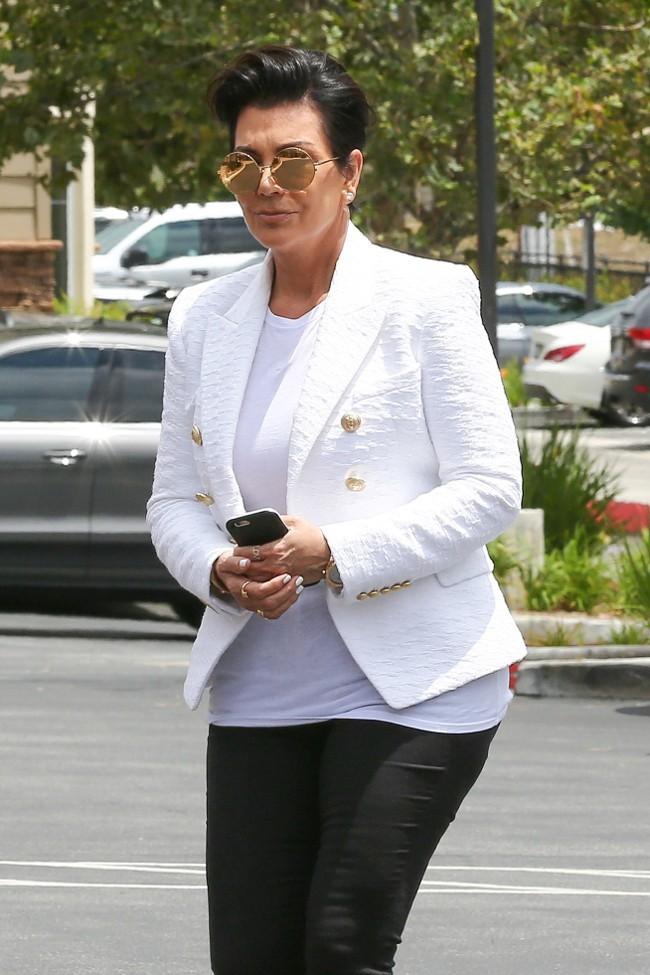 Kris Jenner à Agoura Hills le 21 juillet 2015