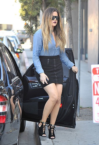 Khloe Kardashian à West Hollywood le 17 octobre 2013