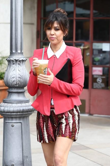 Kourtney Kardashian le 25 mars 2013 à Los Angeles