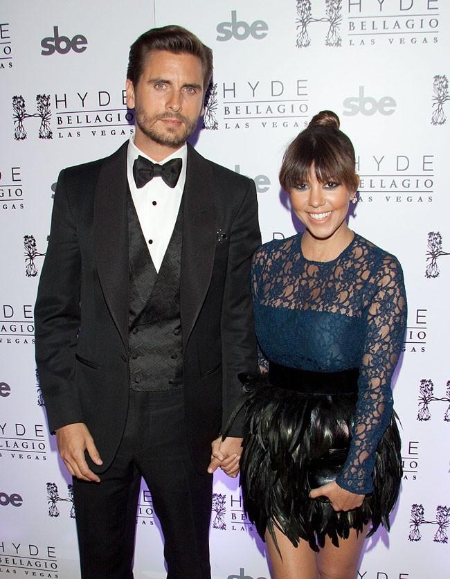 Kourtney Kardashian et Scott Disick le 26 mai 2013 à Las Vegas