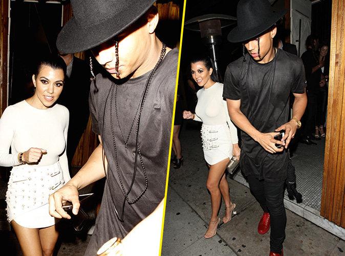 Photos : Kourtney Kardashian : Après Justin Bieber, la cougar met le grappin sur le fils de P.Diddy !