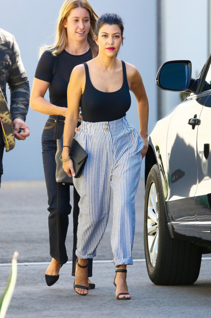 Kourtney Kardashian à Los Angeles le 1er octobre 2015