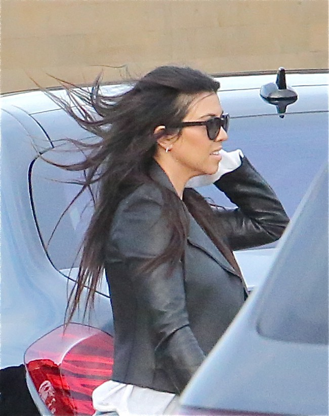 Kourtney Kardashian à Malibu le 26 mai 2015