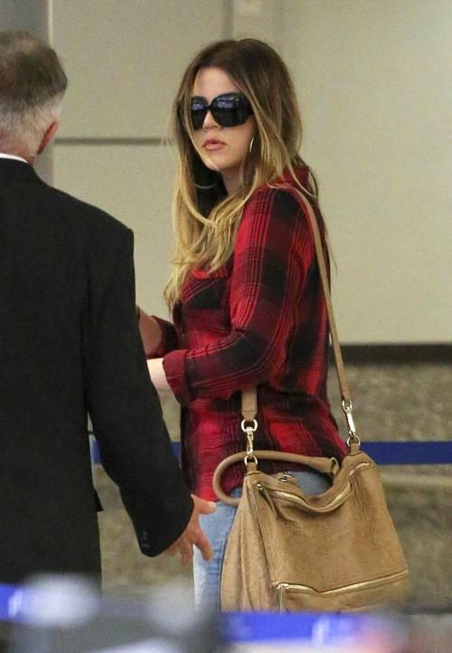 Khloe Kardashian à LAX