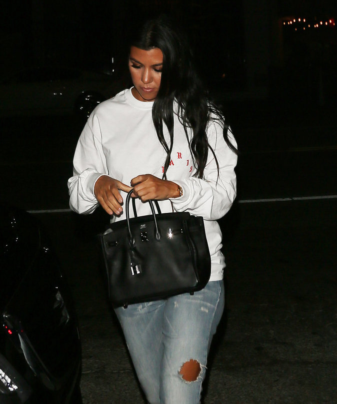 Kourtney Kardashian à Los Angeles le 27 juillet 2016