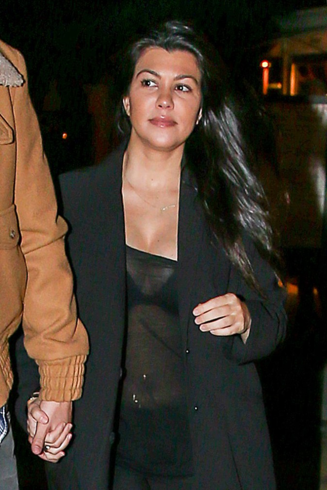 Kourtney Kardashian le 2 février 2015