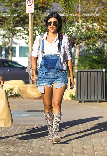 Kourtney Kardashian à Los Angeles le 21 juin 2014