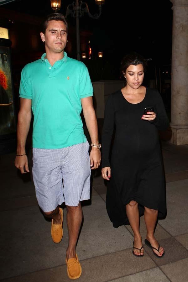Scott Disick et Kourtney Kardashian à Los Angeles le 5 juin 2012
