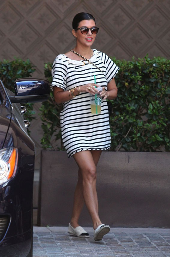 Kourtney Kardashian à Beverly Hills le 7 août 2013
