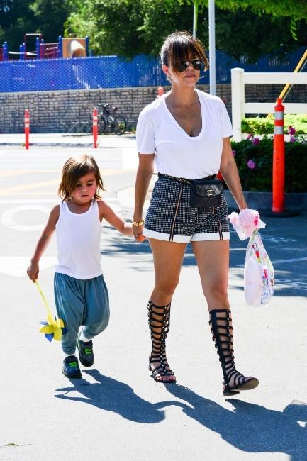 Kourtney Kardashian, Calabasas, 11 mai 2013